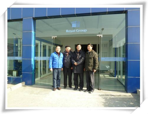 中国塑料加工工业协会常务副会长曹俭参观考察南京聚隆科技股份有限公司-2