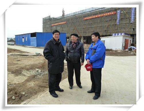 中国塑料加工工业协会常务副会长曹俭参观考察南京聚隆科技股份有限公司-4